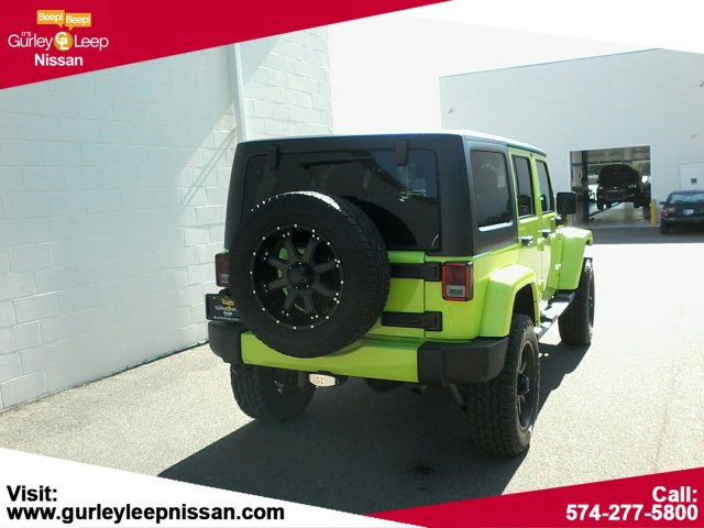 Pre-Owned 2016 Jeep Wrangler Unlimited Sahara