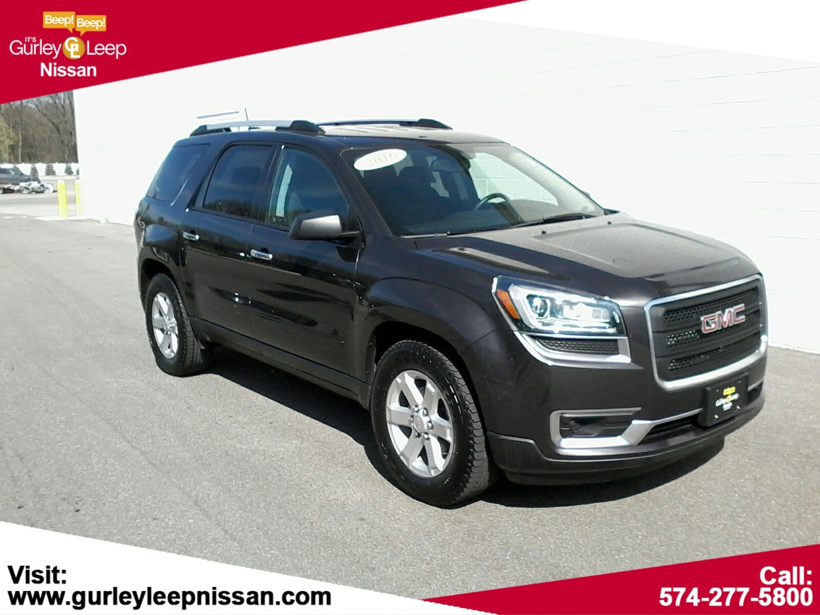 Pre Owned 2016 Gmc Acadia Sle