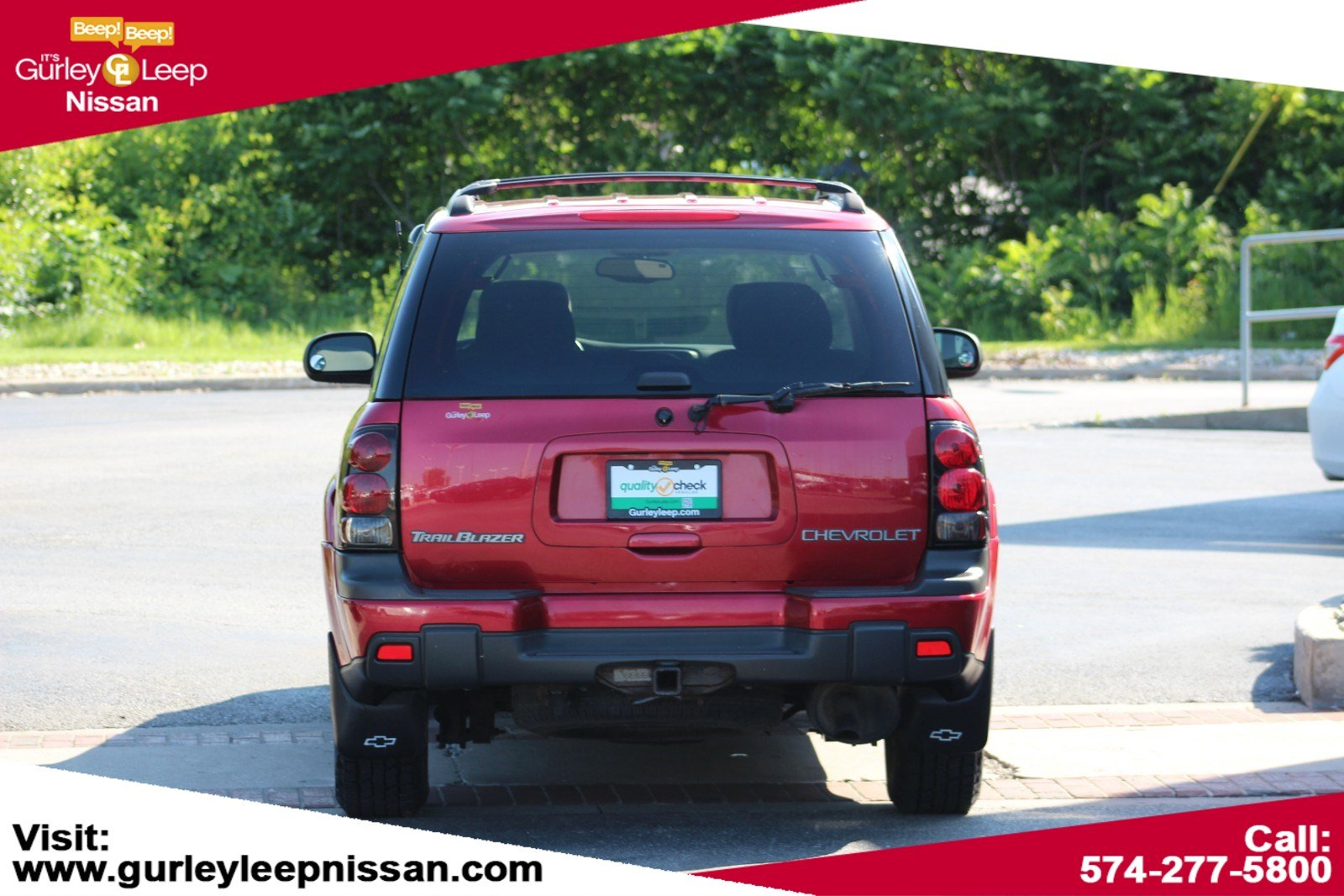 Pre-Owned 2002 Chevrolet TrailBlazer LT