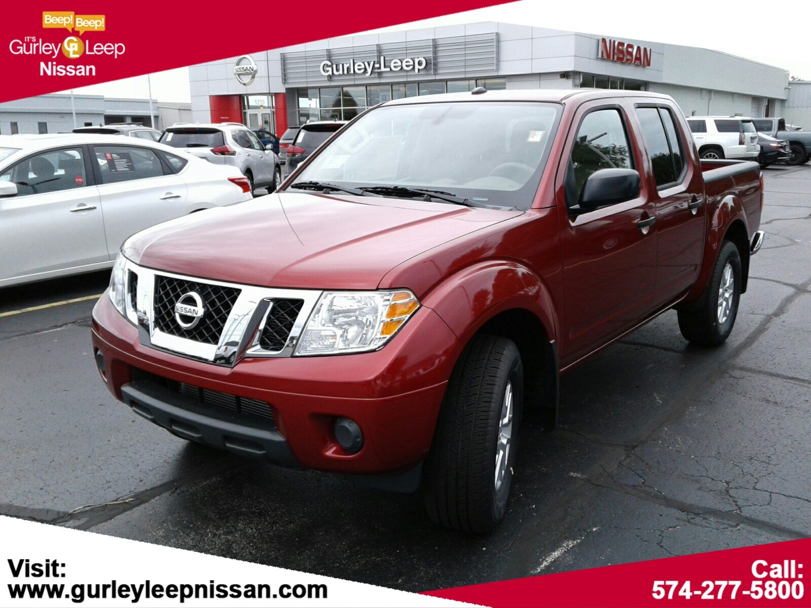 New 2018 Nissan Frontier Sv V6 Crew Cab Pickup In Mishawaka N87334