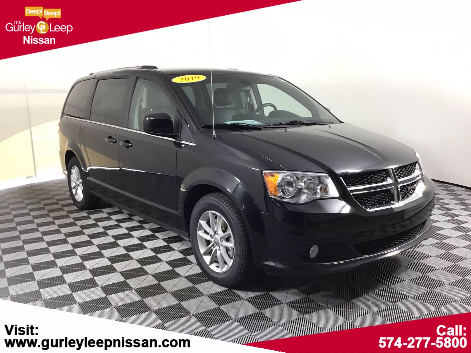 Pre Owned 2019 Dodge Grand Caravan Sxt Mini Van Passenger In Mishawaka Aa7653 Gurley Leep Nissan